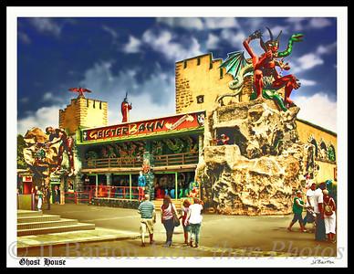 Prater Ghost Ride The GeisterBahn zum Roten Adler has been around since about 1950.