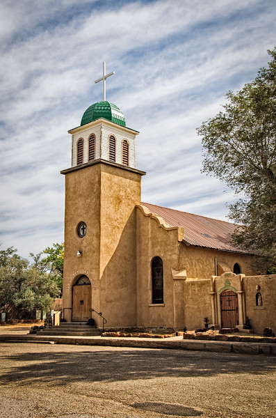 St Joseph Parish Church, 1st St, Cerrillos, New Mexico