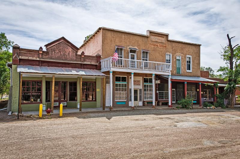 The DeLallo-Simoni Building, 1st Street, Los Cerrillos, New Mexico