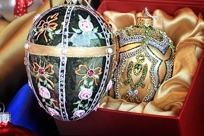 Christmas Tree Eggs