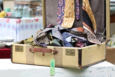Suitcase Full of Ties