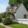 Wisteria on Pergola, Catherine Blaikley House, Duke of Glouceser Street, Colonial Williamsburg, Virginia