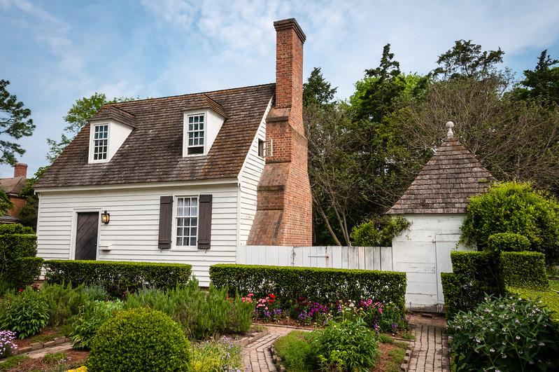 John Blair House, Duke of Gloucester Street, Colonial Williamsburg, Virginia