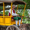 Coachman Reenactor, Colonial Williamsburg, Virginia
