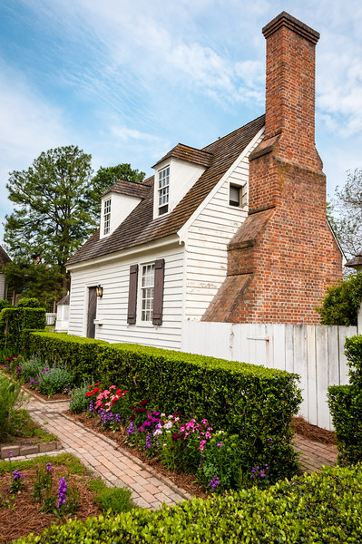 John Blair Kitchen Building, Duke of Gloucester Street, Colonial Williamsburg, Virginia