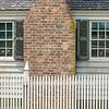 Weathered windows, Greenhow Tenement, Colonial Williamsburg, Virginia