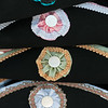 Rosettes on Tricon Hats, Colonial Williamsburg, Virginia