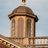 Cupola at sunset, Merchants Square, Colonial Williamsburg, Virginia