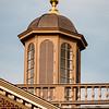 Cupola at sunset, Merchants Square, Colonial Williamsburg, Virginia