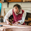 Edward Wright, Harpsichord Maker, Colonial Williamsburg, Virginia