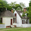 Tayloe Office and Kitchen, Nicholson Street, Colonial Williamsburg, Virginia