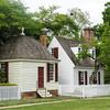 Tayloe Office and Kitchen, Nicholson Street, Colonial Williamsburg, Virginia