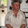 Blacksmith, James Anderson's Blacksmith Shop, Colonial Williamsburg, Virginia