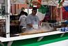 <center>Sidewalk Sausage Vendor  <br><br>Columbus Day Parade and Festival<br>Providence, Rhode Island</center>