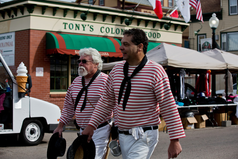 <center>18th Century Sailors  <br><br>Columbus Day Parade and Festival<br>Providence, Rhode Island</center>