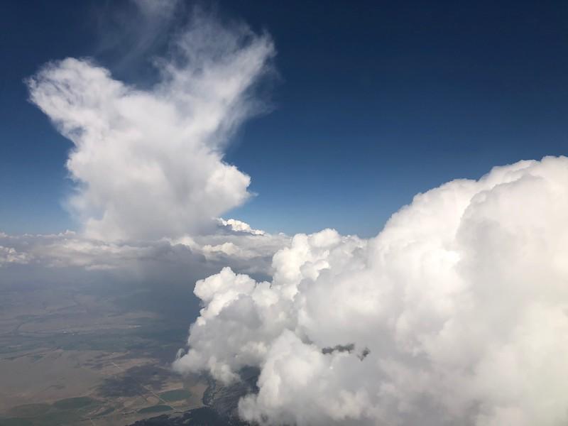 Clouds over Bozeman, Montana