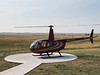 Helicopter tour of the Badlands, SD