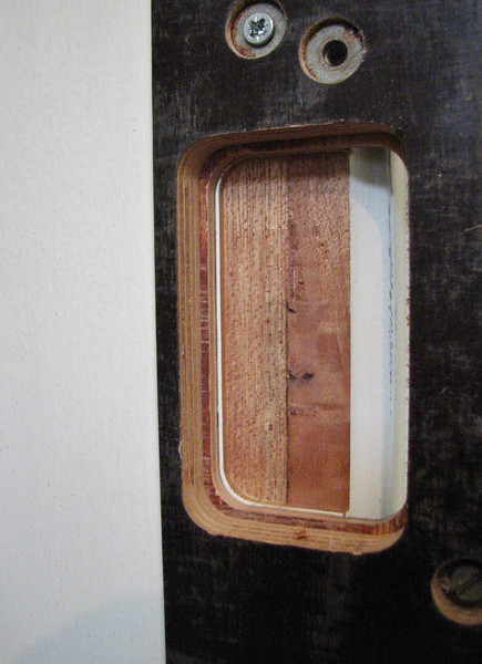 The milled hinge form