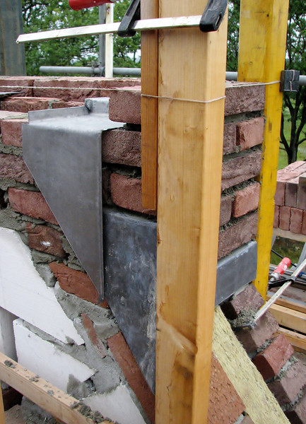 Water protection: lead in the chimney