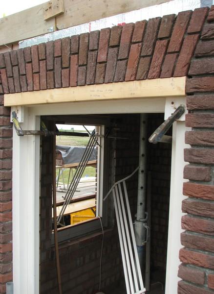South window of Stijns room