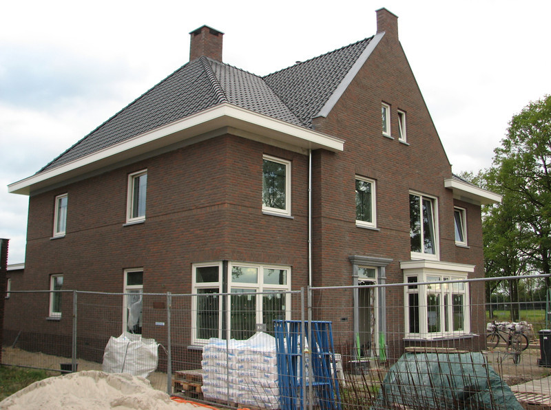 Imke and Frans home, Jufferlaan 38, is visible now