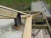 Wall plate, gutter beams and steel construction