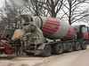 Concrete mixer, Casting warm concrete
