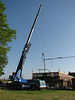 Using a crane