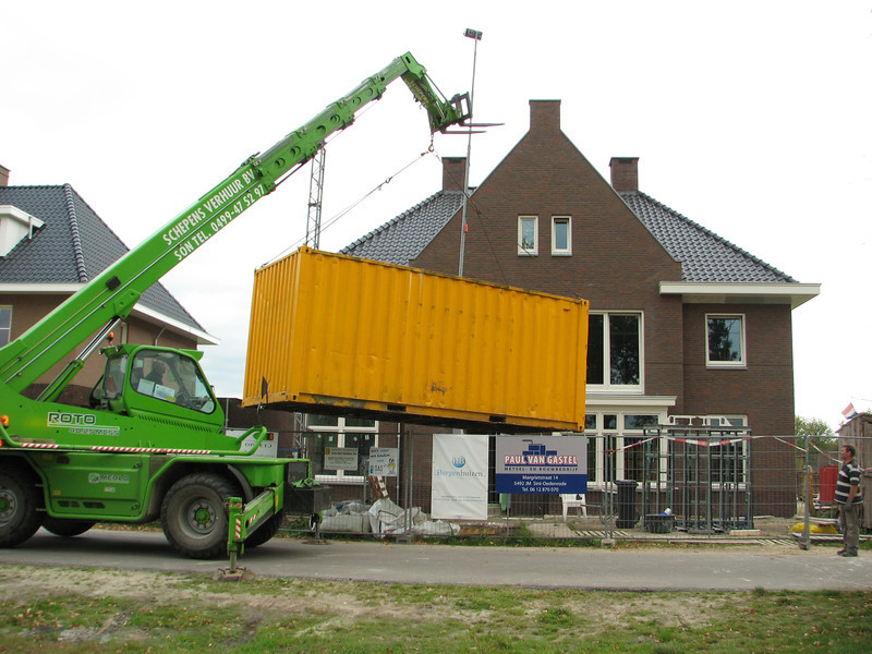 Transporting the container