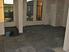 The kitchen floor with bluestone (Avedo tegelwerken)