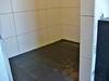 Tiling the badroom floor