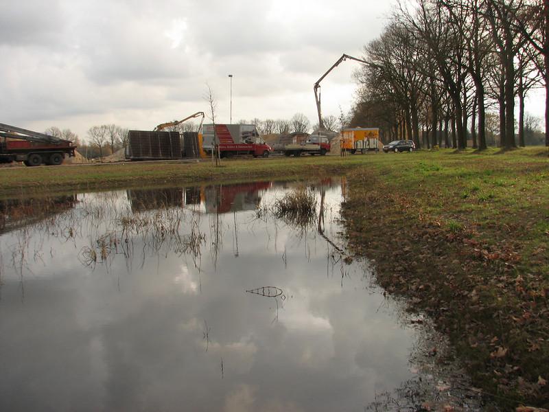 The rural setting of the building site, lot-Jufferlaan 36/38   Son en Breugel