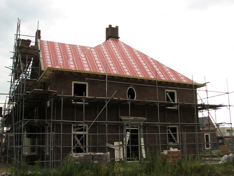 Roof of Jufferlaan 36