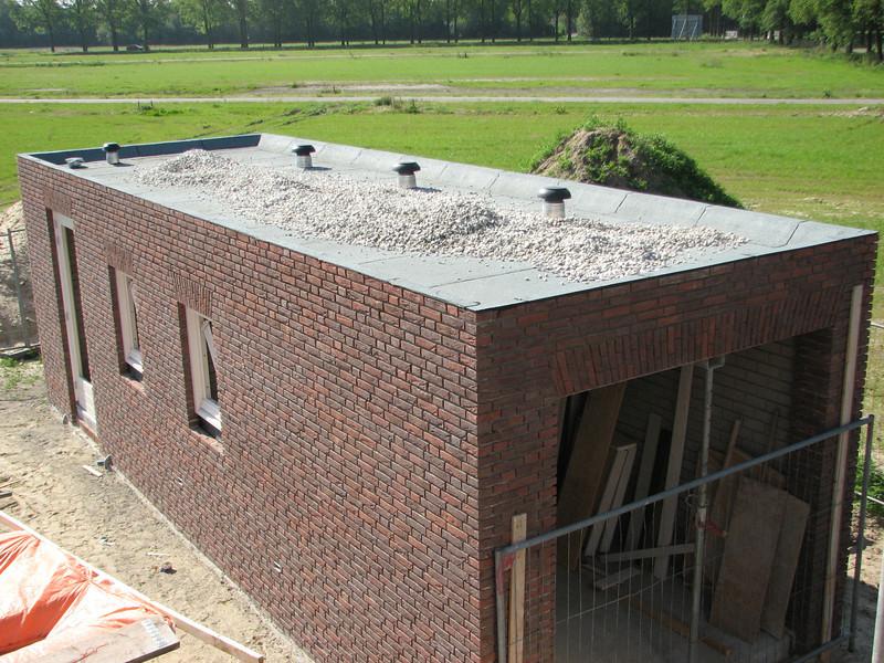 Roof ballast (gravel)