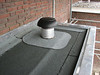 Ventilation chimney-pot. Kitchen roof covering by Coen Lokker