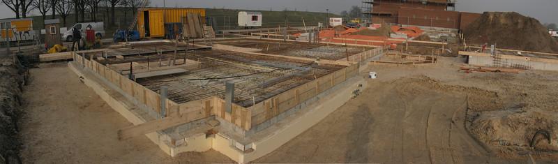 Basis for casting concrete