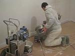Film: Spraying the walls and ceiling (firm: Robert v.d. Wetering schilderwerken)