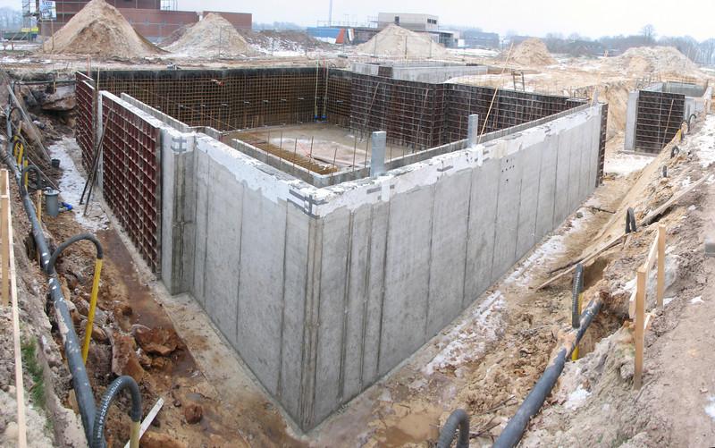 Last activities before pour concrete