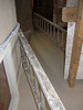 Plastered stairecase