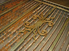 "Detail of balcony fence part B. Waterjet cutting system ""Resato"""