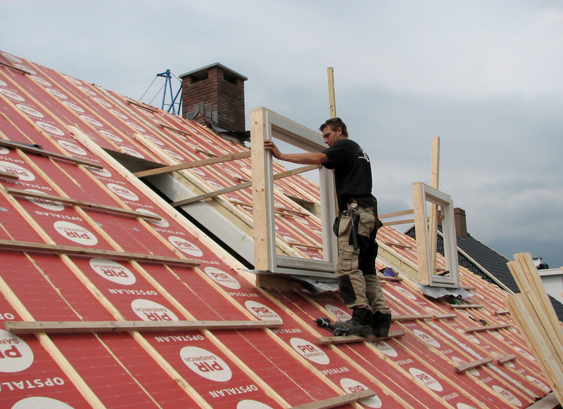 Building the dormers by Hans and Jarno