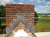Water protection: lead in the chimney (in good weather)
