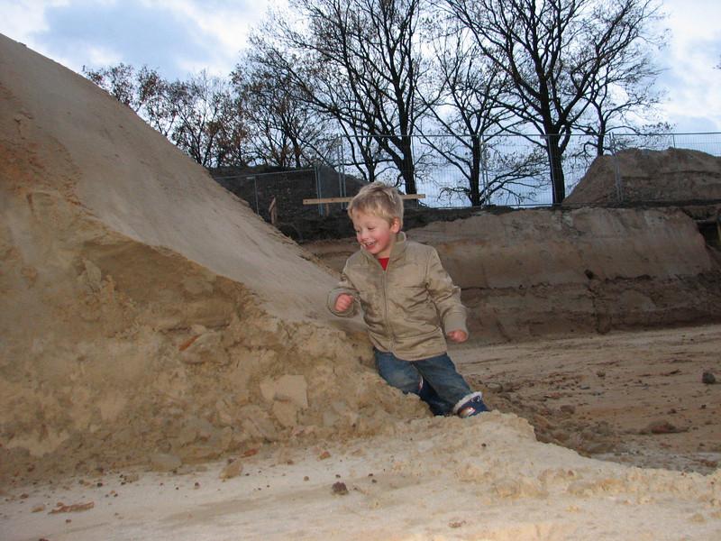 Stijn has a nice playground