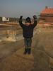 Stijn reach the summit:-))