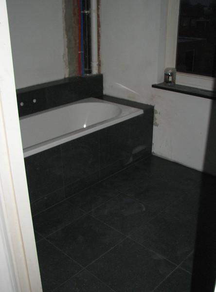 Bath room floor