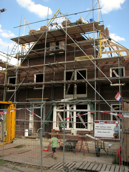 Building the 6th scaffold layer