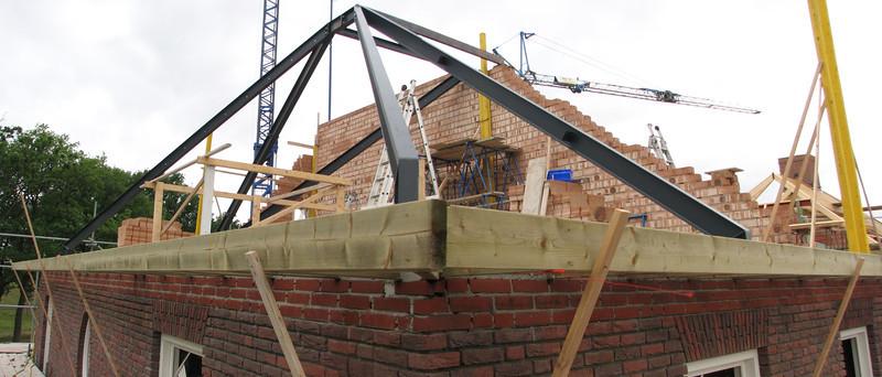 Roof beams of Jufferlaan 36
