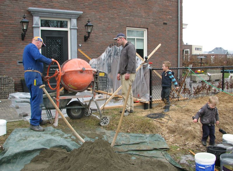 Casting the concreet