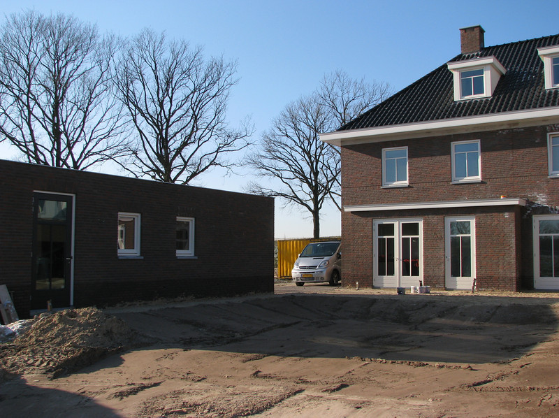 2-2-2012 Jufferlaan at winter -6 degrees Celcius, at night -10