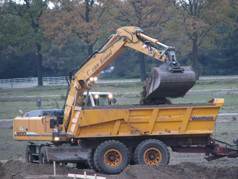 Storing the soil